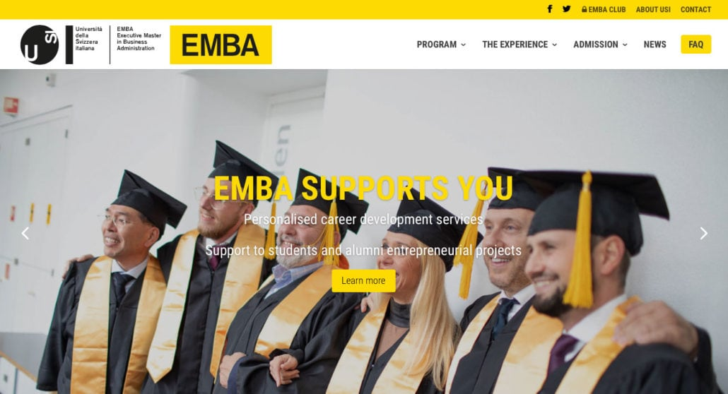 EMBA WEBSITE