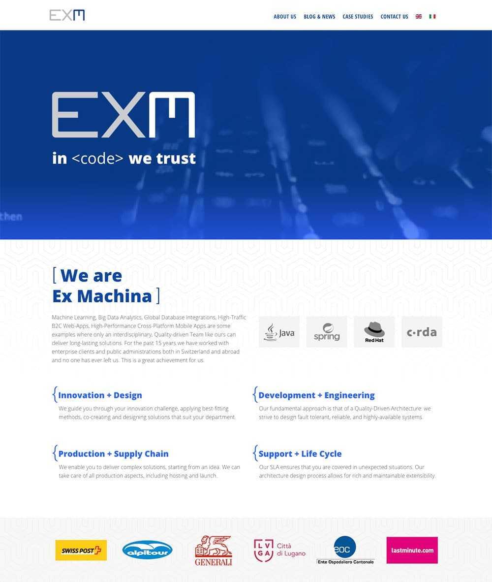 EXMACHINA site 1